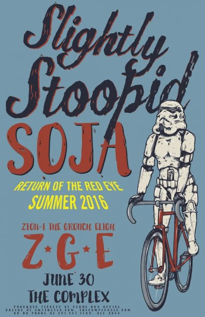 Slightly Stoopid Thursday June 30th 2016 At The Complex