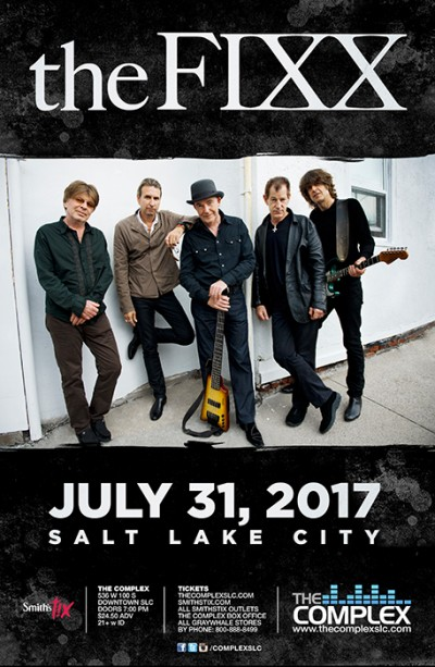 The Fixx Monday July 31st 2017 At The Complex Salt Lake