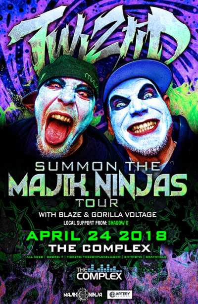 TWIZTID - Summon The Majik Ninjas Tour
