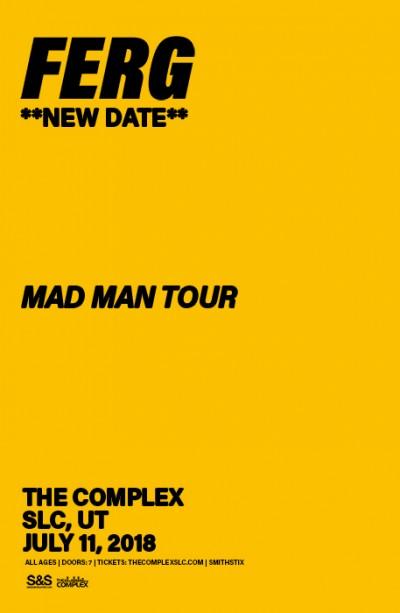 **NEW DATE** A$AP FERG