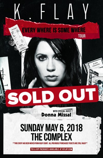 K.Flay - SOLD OUT