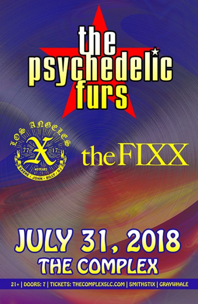The Psychedelic Furs - X - The FIXX