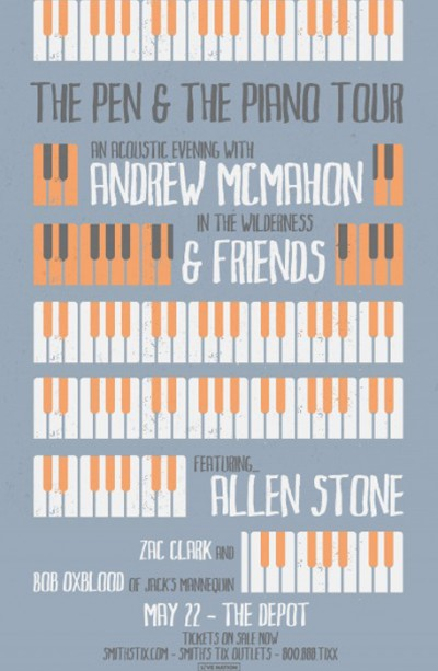 *NEW VENUE* Andrew McMahon in the Wilderness and Friends