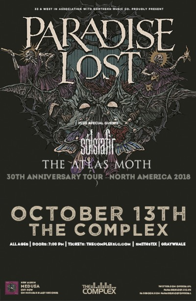 PARADISE LOST: The 30th Anniversary Tour