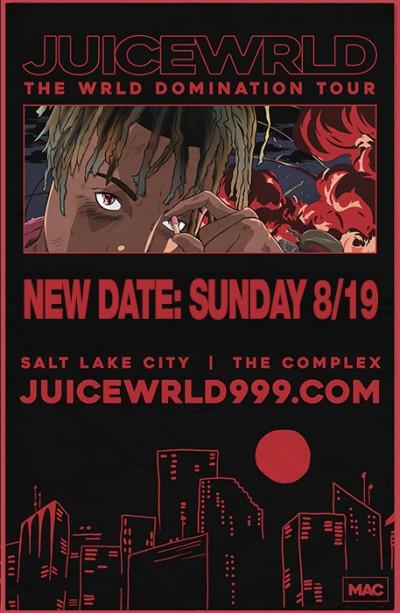 Juice Wrld Sunday August 19th 2018 At The Complex Salt Lake City