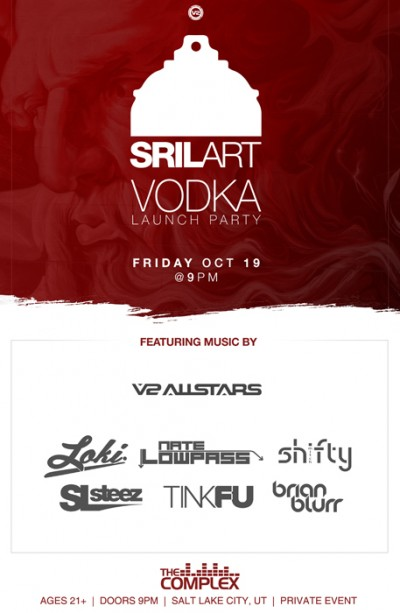 SRIL ART VODKA Launch
