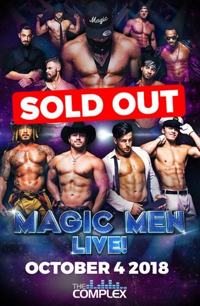 Magic Men Live! - SOLD OUT