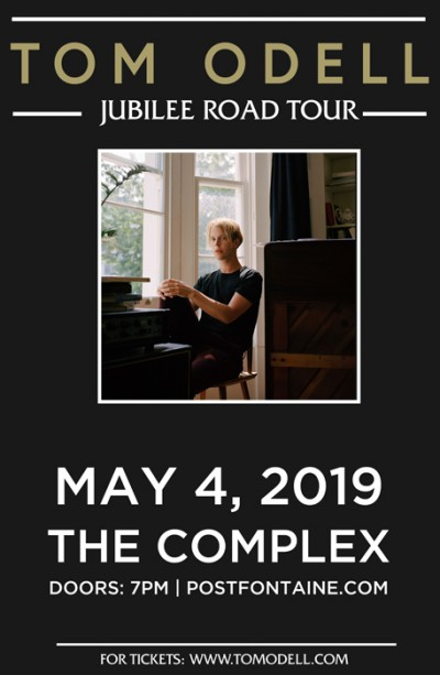 Tom Odell Saturday May 4th 2019 At The Complex Salt Lake City