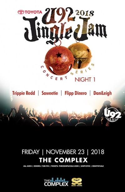 U92 TOYOTA Jingle Jam 2018 feat Trippie Redd + More