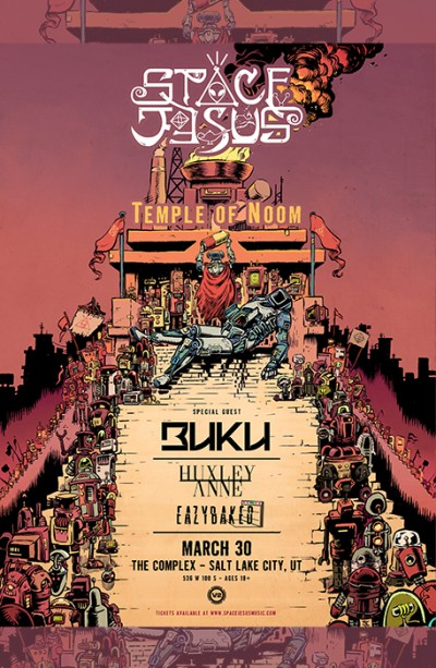 Space Jesus – Temple of Noom Tour