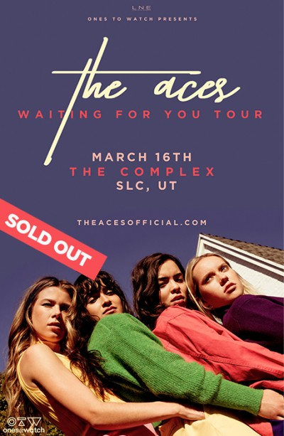 The Aces - SOLD OUT