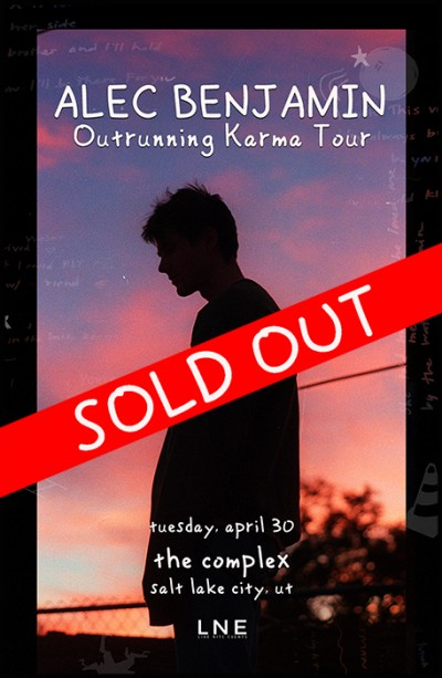 Alec Benjamin - SOLD OUT