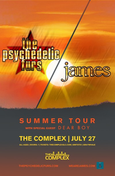 The Psychedelic Furs + James