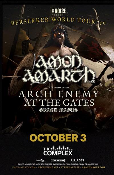 Amon Amarth: Berserker Tour