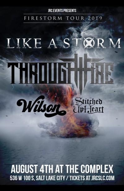 Like A Storm & Through Fire