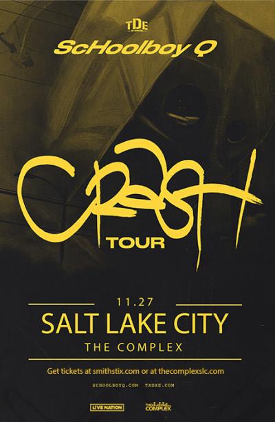 ScHoolboy Q: CrasH Tour