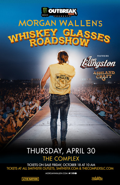 Morgan Wallens Whiskey Glasses Road Show