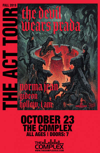 The Devil Wears Prada - The Act Tour