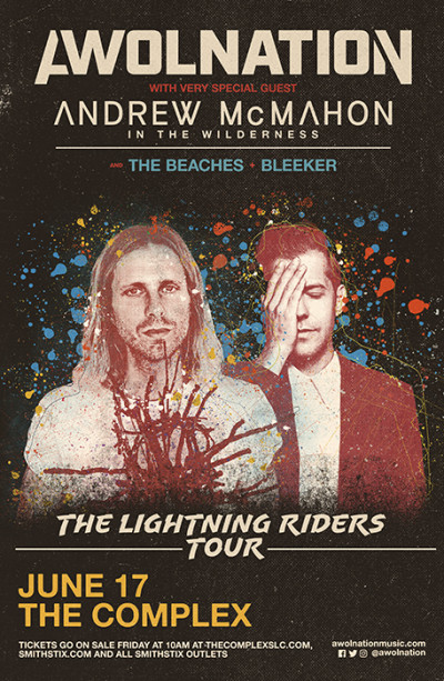 AWOLNATION: The Lighting Riders Tour With Andrew McMahon