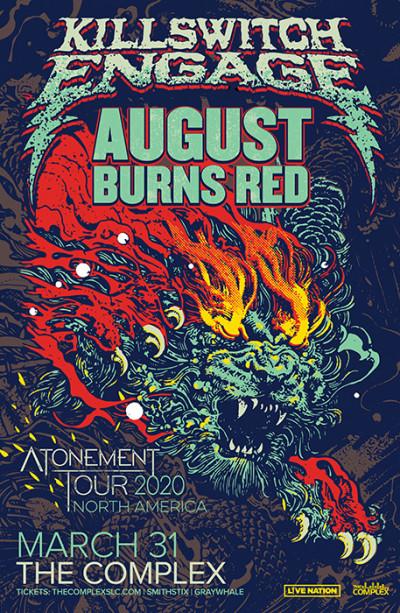 Killswitch Engage: Atonement Tour 2020