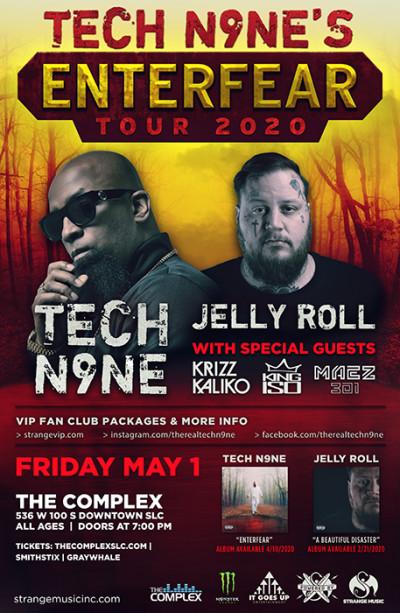 Tech N9ne -  Enterfear Tour