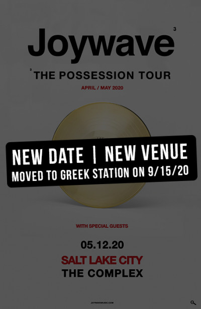 New Date and New Venue: Joywave