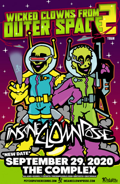 New Date: Insane Clown Posse