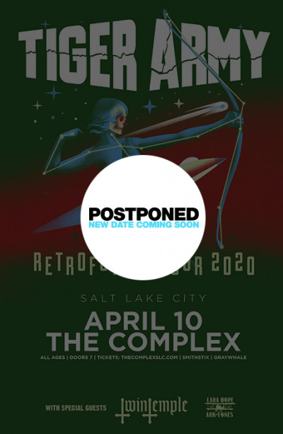 Postponed: Tiger Army