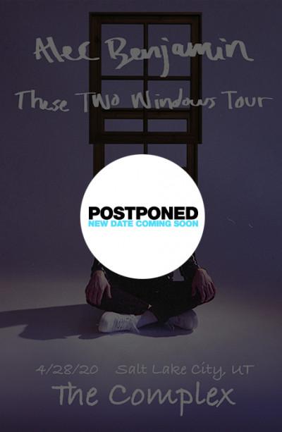 Postponed: Alec Benjamin
