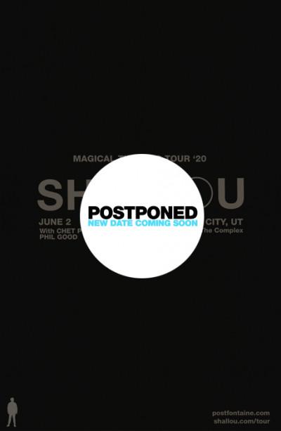 Postponed: Shallou