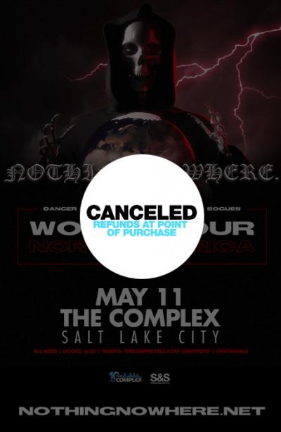 Canceled: nothing,nowhere.