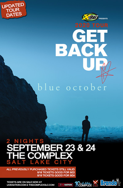 X96 Presents Blue October (Thursday Night)