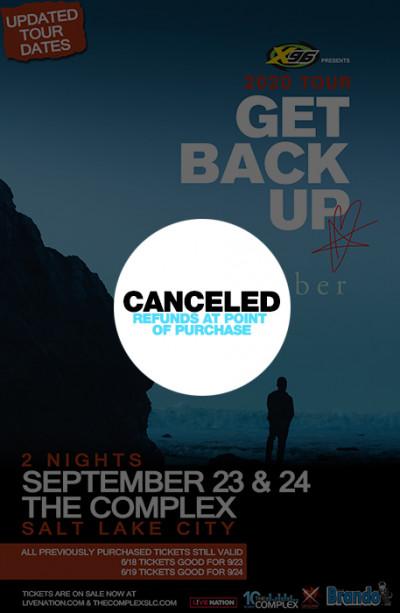 Canceled:  Blue October (Wednesday Night)
