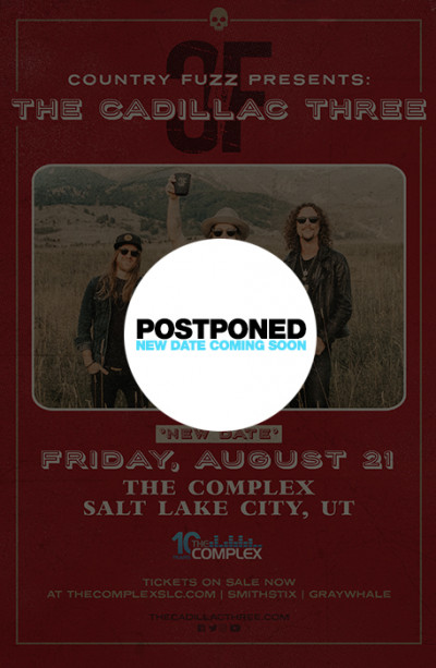 Postponed: The Cadillac Three Presented By Country Fuzz