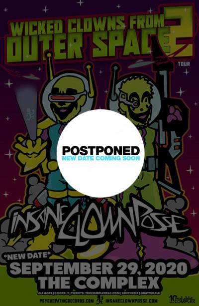 Postponed: Insane Clown Posse