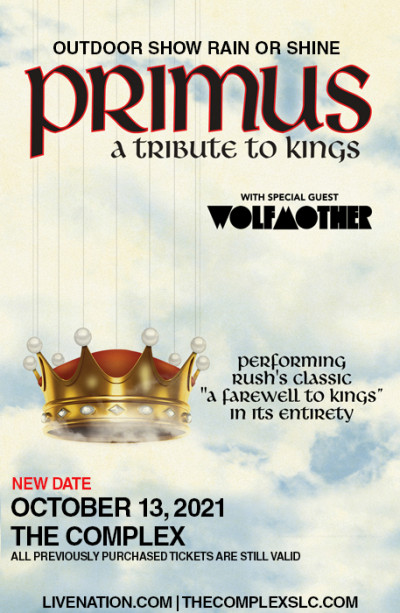 Primus: A Tribute to Kings *New Date