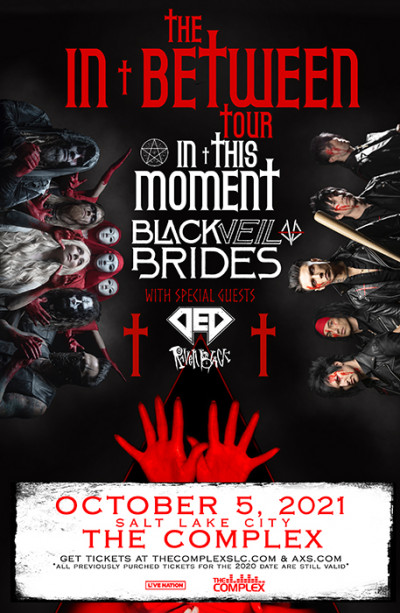 In This Moment and Black Veil Brides with special guests DED and Raven Black