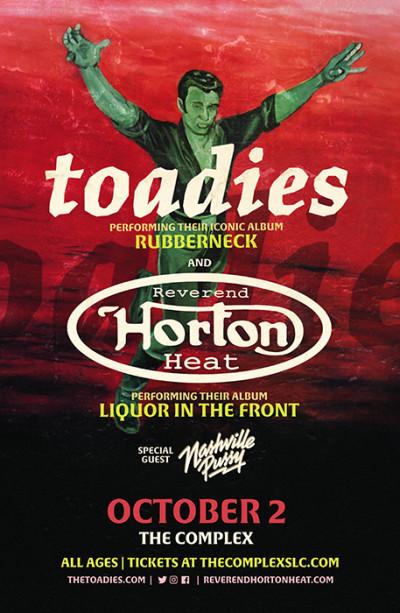 Toadies with Reverend Horton Heat