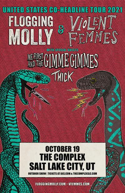 Flogging Molly & Violent Femmes