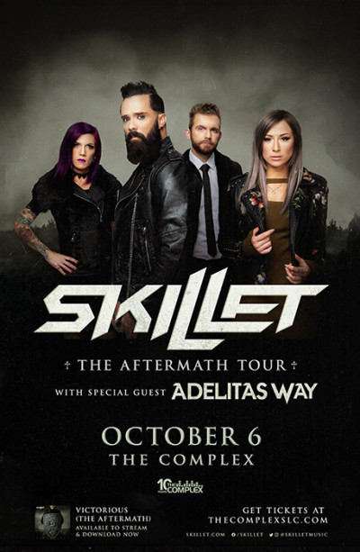 Skillet - The Aftermath Tour 2021