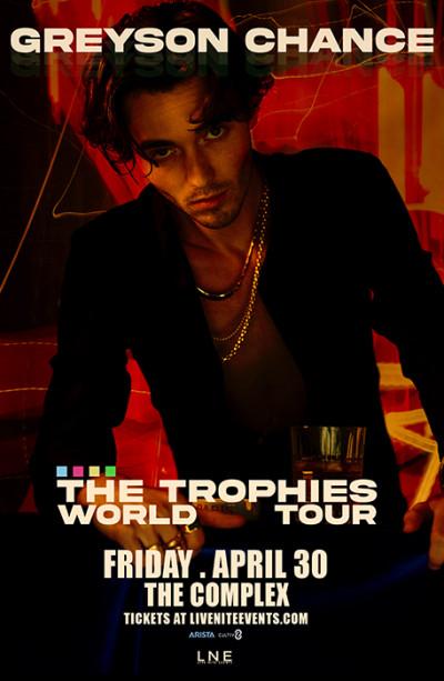 Greyson Chance - Trophies World Tour