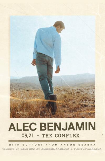New Date: Alec Benjamin