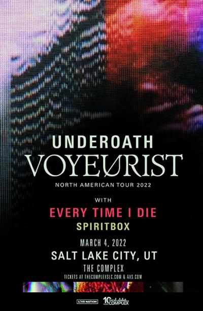 Underoath - Voyeurist Tour