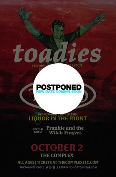 Postponed: Toadies with Reverend Horton Heat