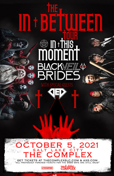 In This Moment and Black Veil Brides with special guests DED