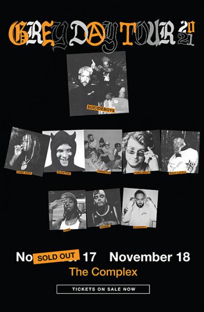 $uicideboy$ present Greyday Tour - 2nd Show