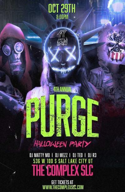 PURGE Halloween Party